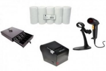 Receipt Printer, Barcode Scanner & Thermal Paper POS Hardware Kit By Hiphen Solutions Services Ltd