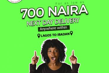 Same day Shipping to Ibadan for 700
