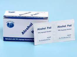 ALCOHOL PAD IN NIGERIA BY SCANTRIK MEDICAL SUPPLIES
